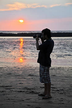 Kantilal Patel - Indian Photographer Manori Beach  Bombay