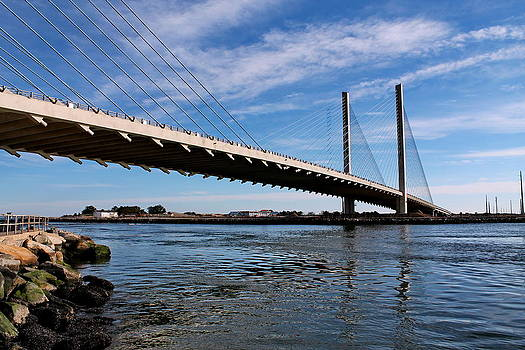 Indian River Inlet Bridge 3 by Francie Davis