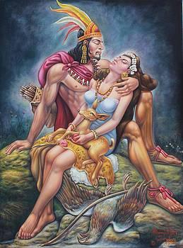 Indian Romance by Arturo Miramontes