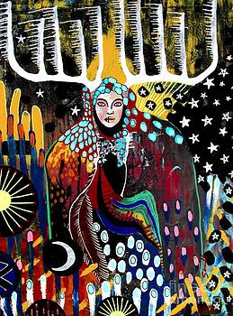 Indian Spirit by Amy Sorrell