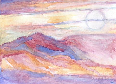 Indian Summer Sky by Roz Abellera Art