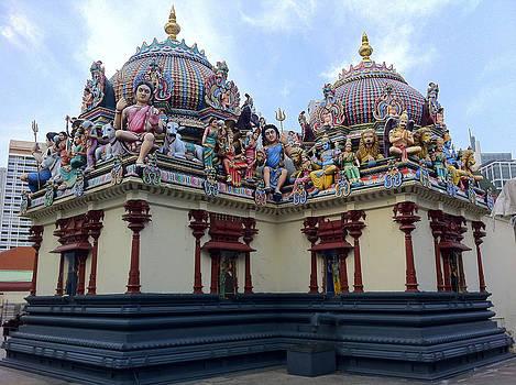 Venetia Featherstone-Witty - Indian Temple in Kuala Lumpur