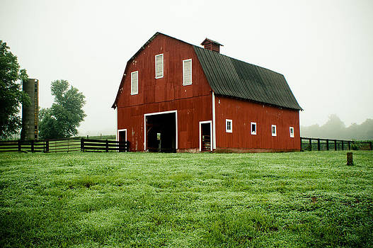 Indiana Barn by Off The Beaten Path Photography - Andrew Alexander