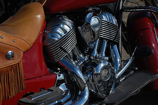 Indian Motorcycle by Dany Lison