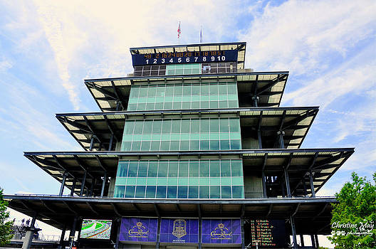 Indianapolis Motor Speedway by Christine May