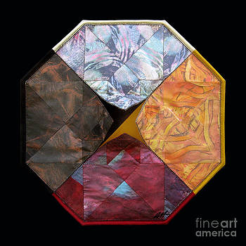 Tesseract Medicine Wheel  by Alyssa Hinton
