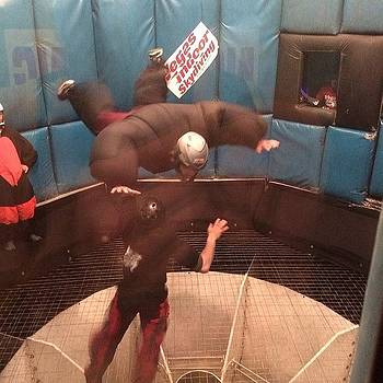#indoor Skydiving Turnup Vegas by The Fun Enthusiast