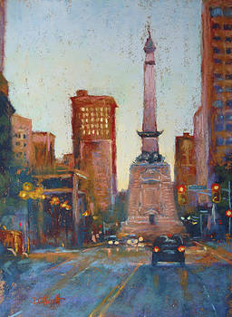 Indy Circle- Twilight by Donna Shortt