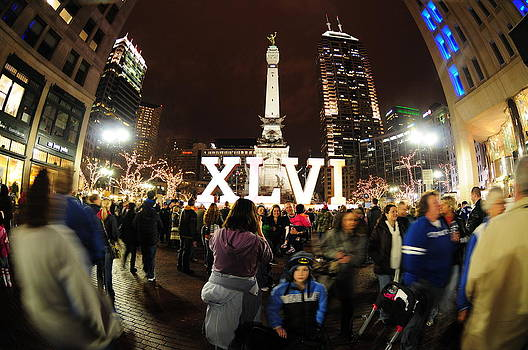 Indy Super Bowl by Rob Banayote