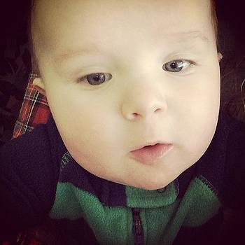 #infantselfie @carter479 by Elaine Ismert