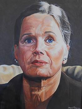 Ingrid Bergman by David Paterson