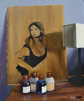 Ingrid on Cardboard by Cathal Gallagher