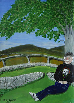 Inis Meain 23 Under the Fairy Tree by Roland LaVallee