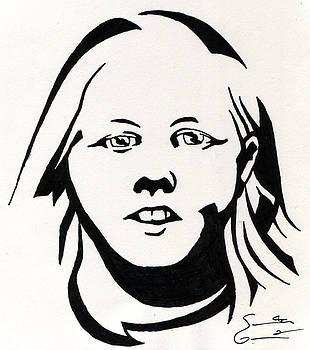 Ink Portrait by Samantha Geernaert
