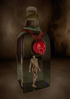 Inked Girl Bottled by Udo W Klingbeil