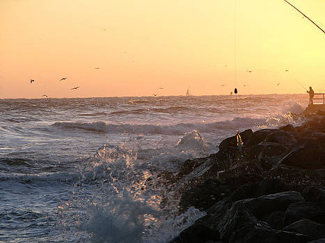 Inlet sunrise 10-5-14 by Julianne Felton