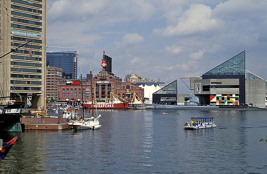 Inner Harbor Baltimore Md by Gail Maloney