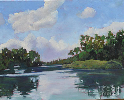 Inner Islands Toronto Island by Joan McGivney