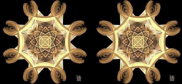 Inner Response - Stereogram by David Voutsinas