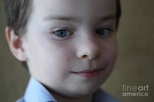 Innocent smile. by Andrzej Goszcz. by  Andrzej Goszcz