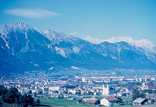 Innsbruck Austria 1963 by Cumberland Warden