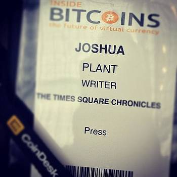 Inside Bitcoin Conference #bitcoin by Joshua Plant