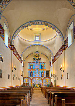 Inside Mission San Jose by James O Thompson