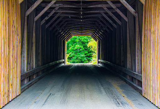 Inside the Covered Bridge by Jason Brow
