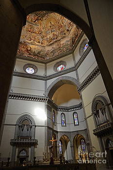 Inside the Duomo of Florence by Sami Sarkis