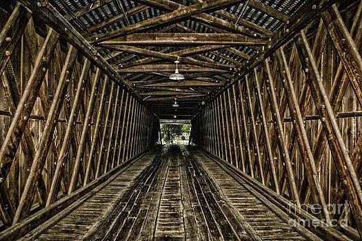 Barbara Bowen - Inside the Euharlee Bridge