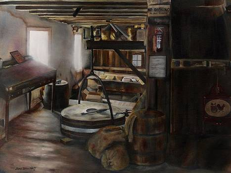 Inside the Flour Mill by Lori Brackett