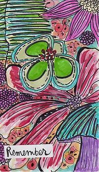 Inspirational Flower Art by Rosalina Bojadschijew