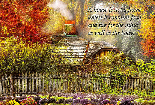 Mike Savad - Inspirational - Home is where it