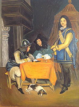 Interior back in the  17th Century by Egidio Graziani