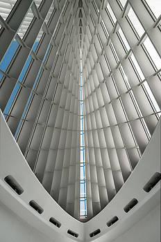 Interior Milwaukee Art Museum by Paul Plaine