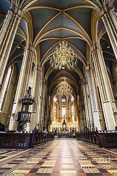 Oscar Gutierrez - Interior of Zagreb Cathedral Croatia
