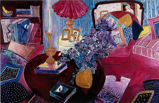 Interior with Picasso by Elaine Elliott