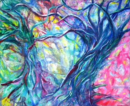 Intertwined 1 by Art by Kar