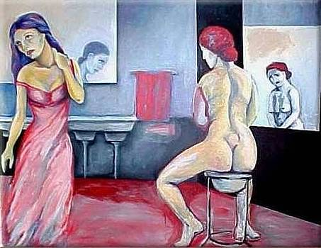 INTIMATE MOMENTS nude naked by Raquel Sarangello