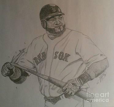 Intimidating David Ortiz by Rox Fort