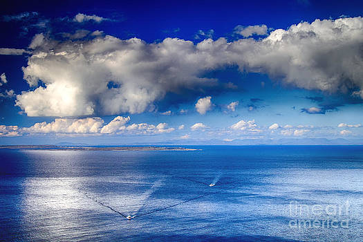 Into the Blue by Juergen Klust