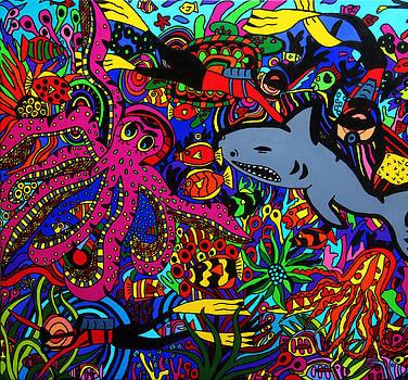 Into the deep by Karen Elzinga