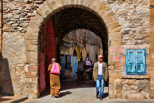 Into the Jewish Quarter by Phil Dyer