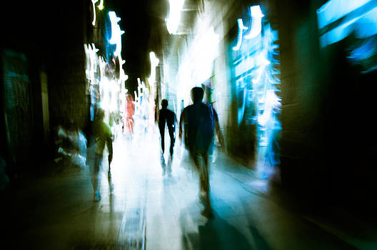 Into the light by Gilbert Wayenborgh