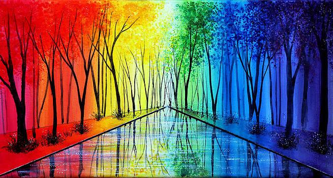 Into the Rainbow by Ann Marie Bone