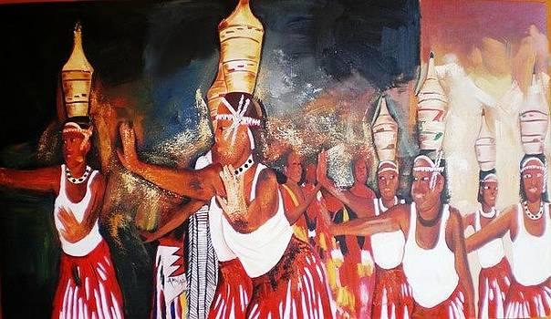 Intore dance by Anwar Sadat