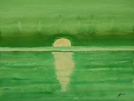 Intracoastal original painting by Sol Luckman