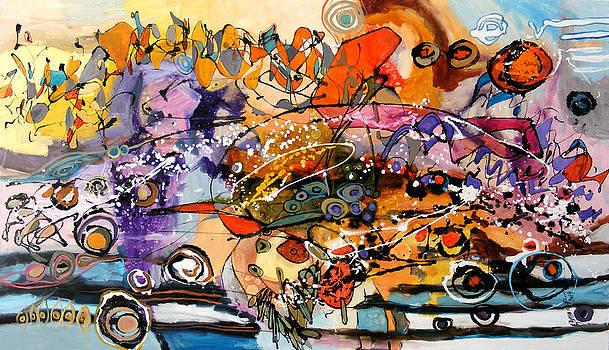 Intre cer si pamant by Elena Bissinger