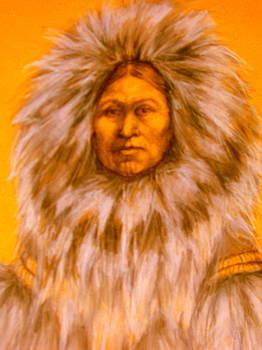 Inuit Woman by Johanna Elik