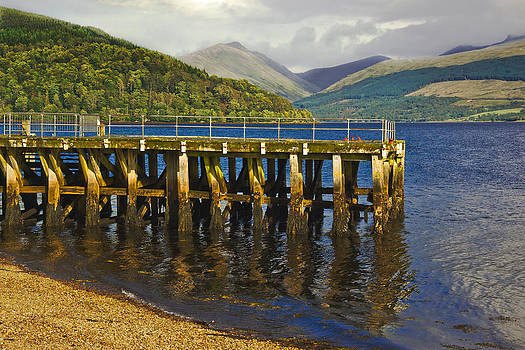 Jane McIlroy - Inverary Harbour - Loch Fyne - Scotland